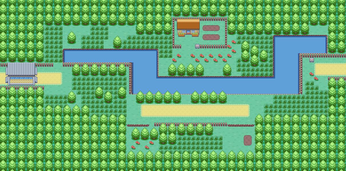Pokemon Topaz Route Maps